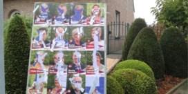 Verkiezingsborden van drie partijen beschadigd