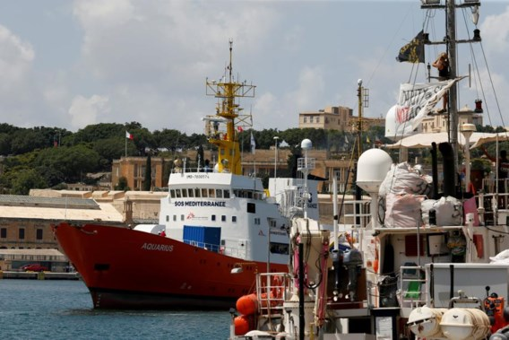 'Opvarenden Aquarius 2 kunnen terecht in Portugal, Spanje, Frankrijk en Duitsland'