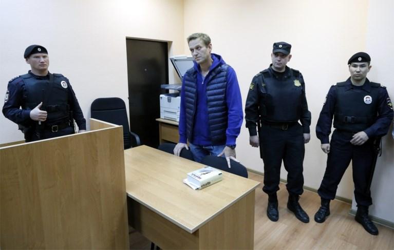 Kremlincriticus Navalny opnieuw veroordeeld tot twintig dagen cel