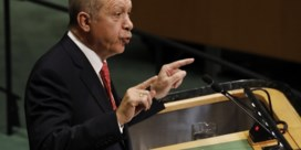 Erdogan haalt opnieuw uit naar VS: 'Economische sancties worden als wapens gebruikt'