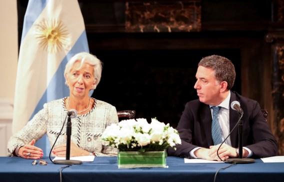 IMF geeft Argentinië noodlening van 57 miljard