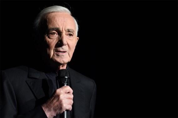 Charles Aznavour (94) overleden