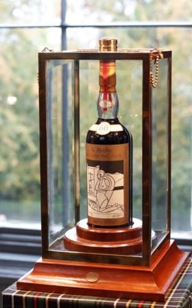 Duurste fles whisky ooit geveild in Schotland