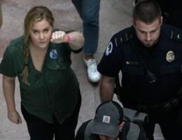 Bekend protest tegen Kavanaugh: Amy Schumer gearresteerd