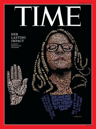 Time zet Dr. Christine Blasey Ford op cover