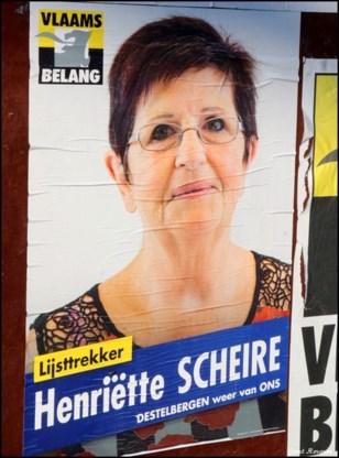 DE LAATSTE RONDE van lijsttrekster Henriëtte Scheire (Vlaams Belang)