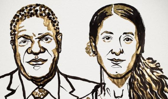 Denis Mukwege en Nadia Murad winnen Nobelprijs voor de Vrede