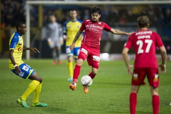 Waasland-Beveren en KV Oostende delen de punten na povere partij
