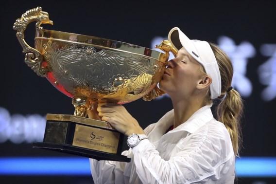 Caroline Wozniacki wint na acht jaar opnieuw China Open