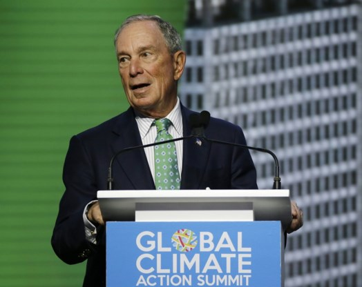 Ex-burgemeester New York Michael Bloomberg opnieuw Democraat