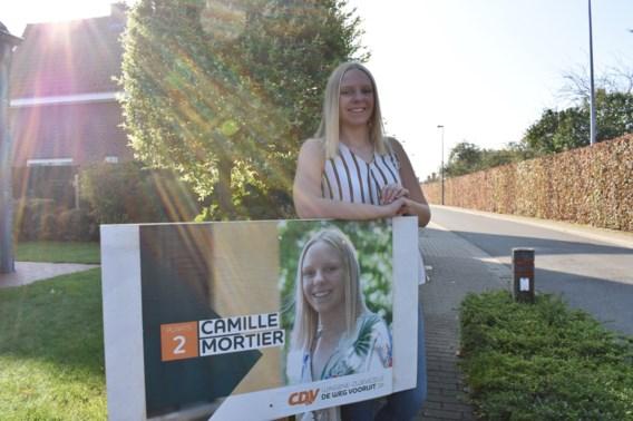 """Nog maar 18 en toch staat Camille al op tweede plaats voor verkiezingen: """"Maar ik ben nog te onervaren om schepen te worden"""""""