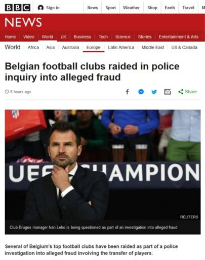 Belgisch voetbalschandaal is wereldnieuws: 'Bananenrepubliek boven aan de Fifa-ranglijst'