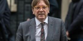 Einde topcarrière dreigt voor Verhofstadt