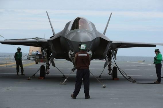 F-35 mag even niet meer vliegen