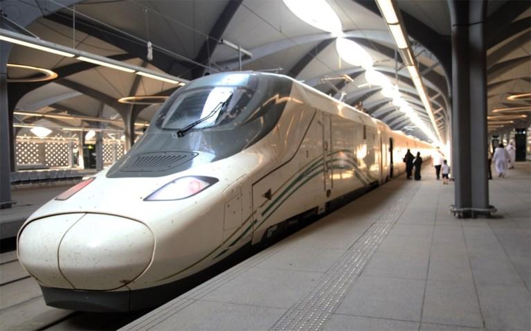 Saudi-Arabië lanceert hogesnelheidstrein tussen Mekka en Medina