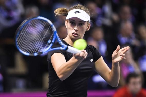 Elise Mertens bereikt kwartfinales in Tianjin