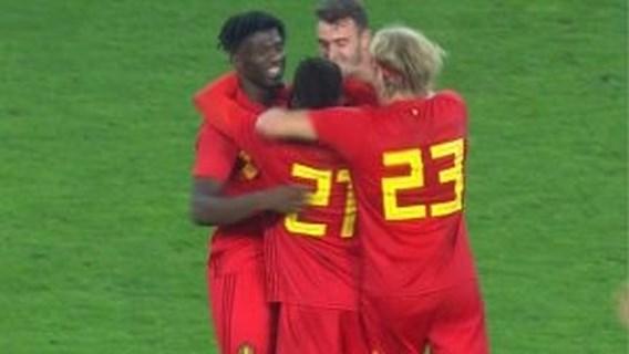Jonge Duivels tanken vertrouwen tegen Italië dankzij late goal van depanneur Amuzu