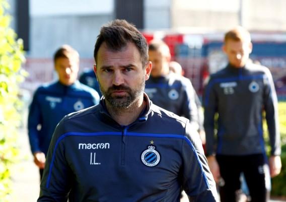 """Club Brugge had open gesprek met Ivan Leko, die coach blijft: """"Vrijdag staat hij opnieuw op trainingsveld"""""""