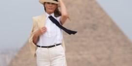 Melania Trump wuift huwelijksproblemen weg