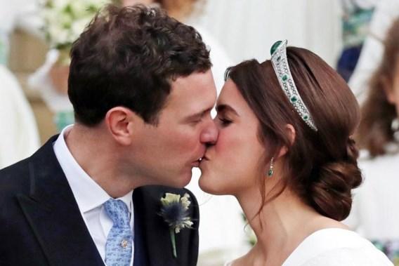 Britse prinses Eugenie is getrouwd