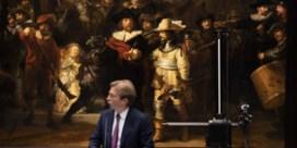 'Nachtwacht' van Rembrandt wordt voor oog van publiek gerestaureerd