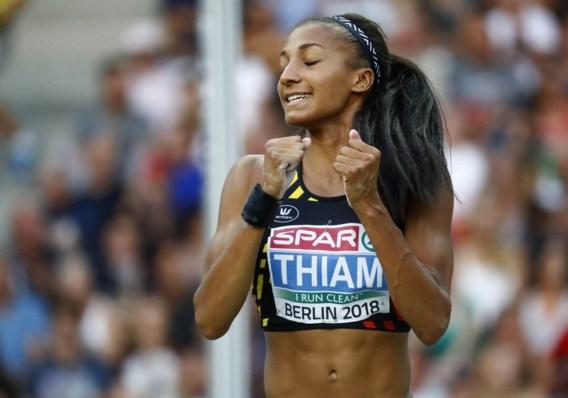 Thiam genomineerd voor titel van Europees Atlete van het Jaar