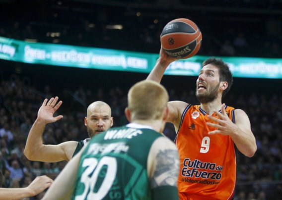 Valencia en Sam Van Rossom winnen van Partizan Belgrado, Pierre-Antoine Gillet wint met Tenerife