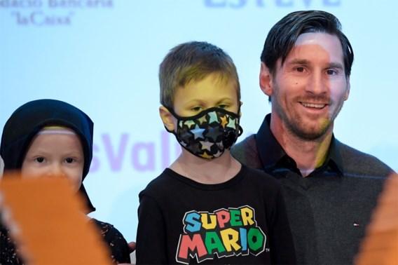Lionel Messi toont zijn goed hart als geldschieter van ziekenhuis voor kinderen met kanker