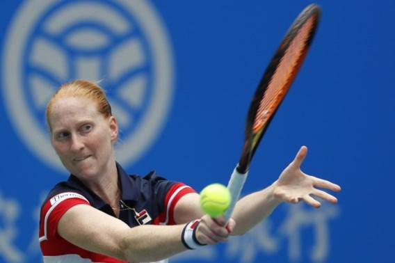 Alison Van Uytvanck knokt zich naar kwartfinales in Linz