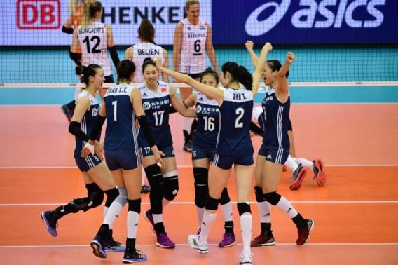 China klopt Nederland in troostfinale WK volleybal vrouwen
