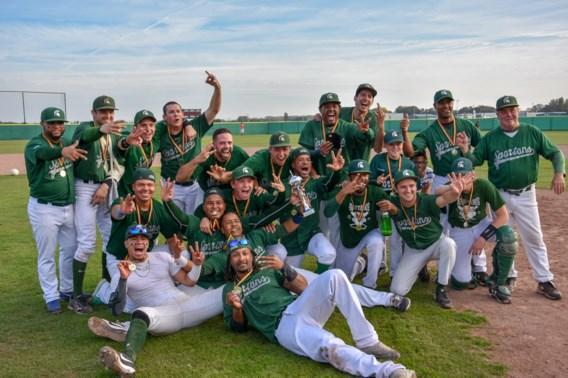 Deurne Spartans winnen Belgian Series Baseball