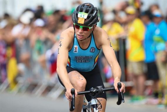 Triatlete Katrien Verstuyft mag het podium op in Challenge Mallorca