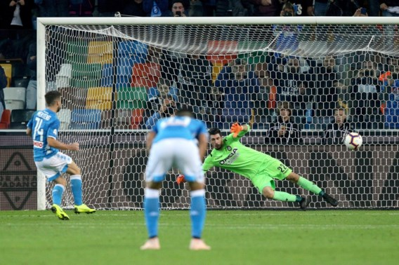 Dries Mertens zorgt met doelpunt en assist voor vlotte zege Napoli