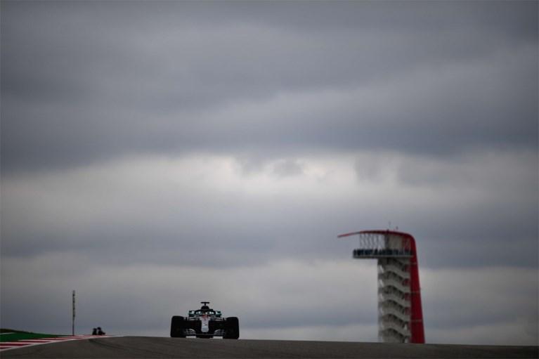 Vandoorne zet traagste tijd neer in kwalificaties GP van VS, pole voor Hamilton