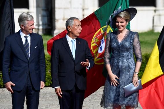 Filip en Mathilde drie dagen op staatsbezoek in Portugal