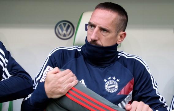 Bayern München moet Ribéry missen in Athene voor wedstrijd Champions League