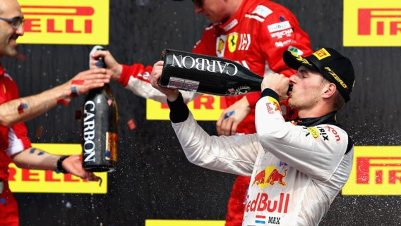Max Verstappen tijdens GP van de USA verkozen tot 'Driver of The Day'
