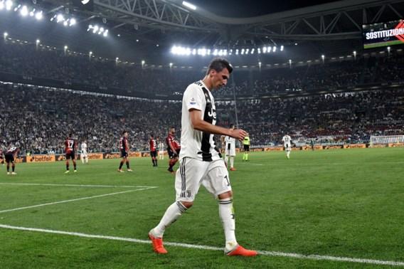 Juventus mist Mandzukic in Champions League-duel met Manchester United