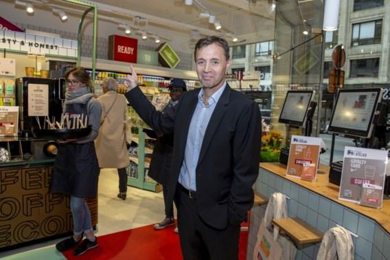 Delhaize test mini-stadswinkel uit