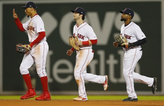 Boston Red Sox winnen eerste finaleduel in World Series