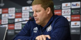 """Vanhaezebrouck en Anderlecht staan voor """"beslissend tweeluik"""" in Europa League: """"Over Dimata zeg ik niets"""""""