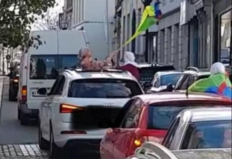 Trouwstoet begaat verschillende overtredingen in centrum van Ronse: 'Ambulance en MUG werden zelfs gehinderd'