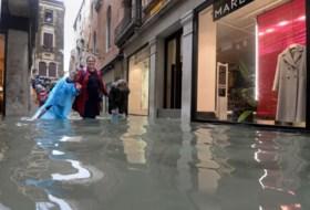 Venetië ernstig bedreigd door noodweer