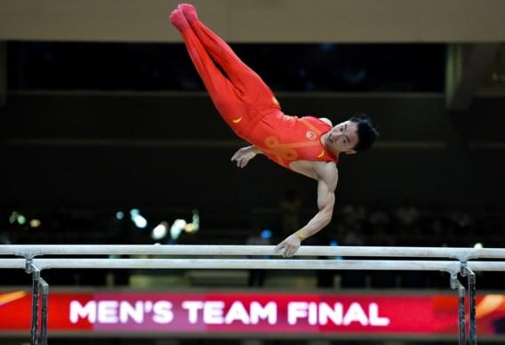Chinese mannen winnen landencompetitie WK turnen