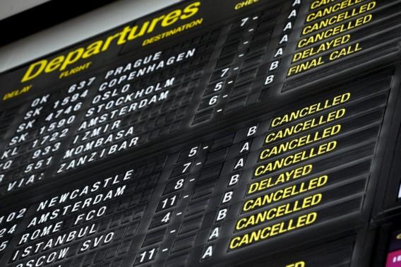 Staking bij Aviapartner blijft duren: al zeker 110 vluchten geannuleerd