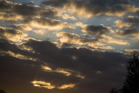 De wolken halen vandaag de bovenhand
