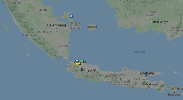 Indonesisch vliegtuig neergestort in zee