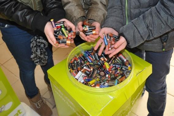 België is Europees kampioen batterijen recycleren