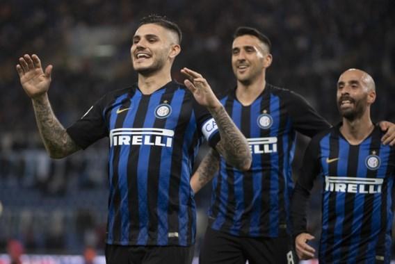 Inter wint topper bij Lazio met droge 0-3