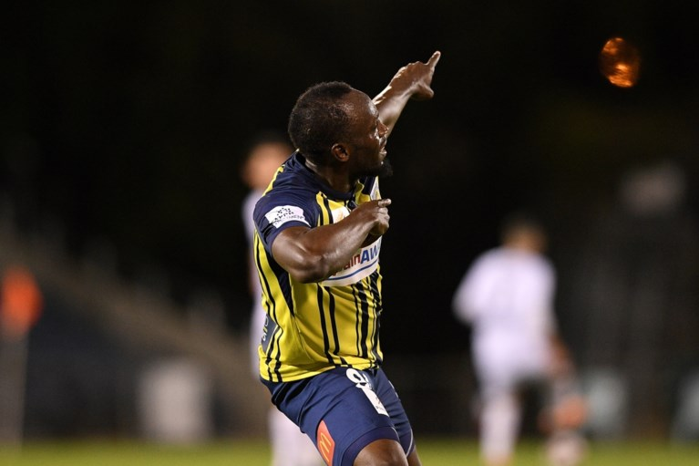 Usain Bolt moet droom van profvoetballer (even?) opbergen: Australische club kan hem niet betalen